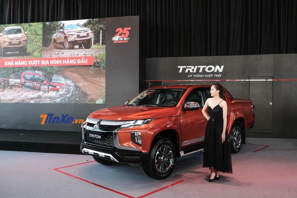 Mitsubishi Triton 2020 chính thức được giới thiệu, có phiên bản full-option