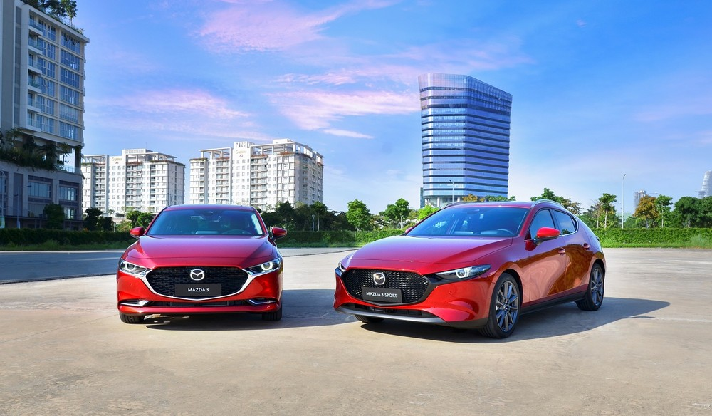 2020 Mazda3 was officially launched in Vietnam on November 4 with a much more western design in the new generation.