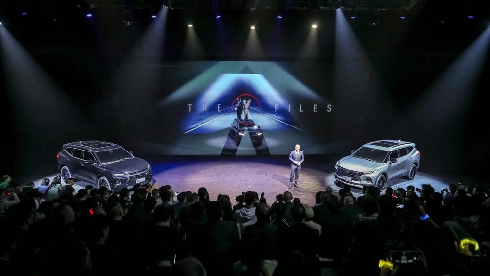 Chevrolet Blazer 2020 ra mắt trong sự kiện tại Trung Quốc