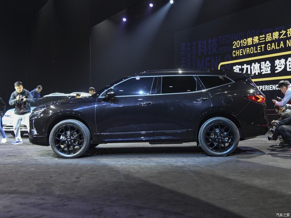 Chevrolet Blazer 2020 có kích thước lớn hơn xe ở Mỹ