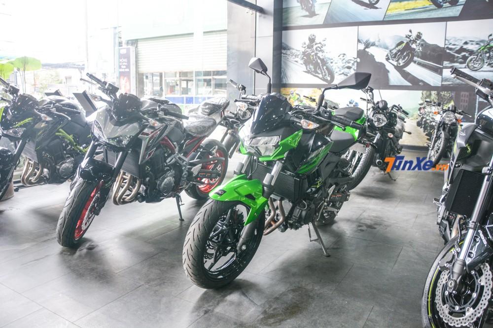 Kawasaki Z400 sẽ thay thế dòng xe Kawasaki Z300