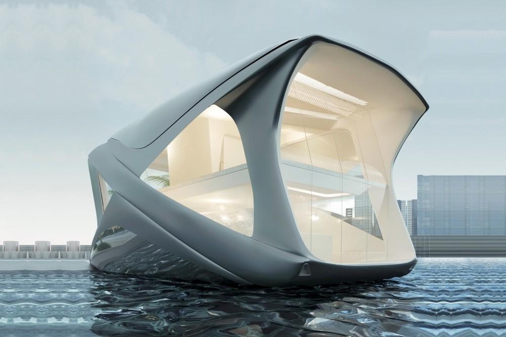 Căn hộ lai du thuyền này là sản phẩm của nhà thiết kếWojciech Morszty