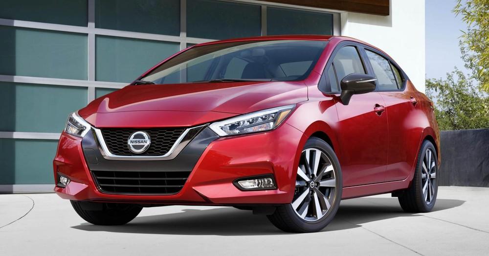 Nissan Versa 2020 dành cho thị trường Mỹ