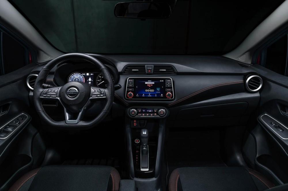 Nội thất bên trong Nissan Versa 2020 dành cho thị trường Mỹ