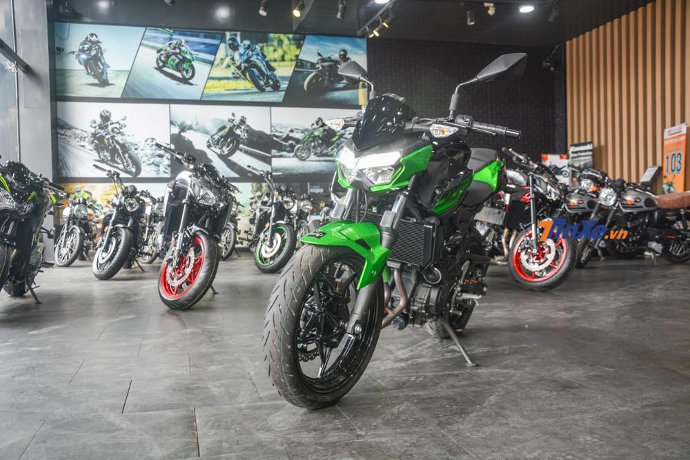 Mẫu xe naked bike cỡ nhỏ nối tiếp truyền thống nổi tiếng của gia đình nhà Kawasaki Z-Series