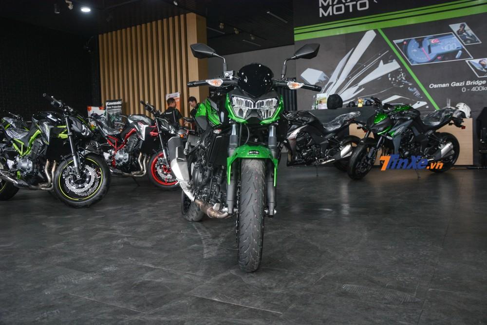 Giá xe Kawasaki Z400 2019 chính hãng tại Việt Nam là 149 triệu đồng, đã bao gồm VAT