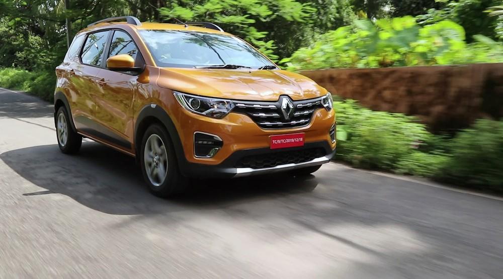 Renault Triber 2019 tại thị trường Ấn Độ