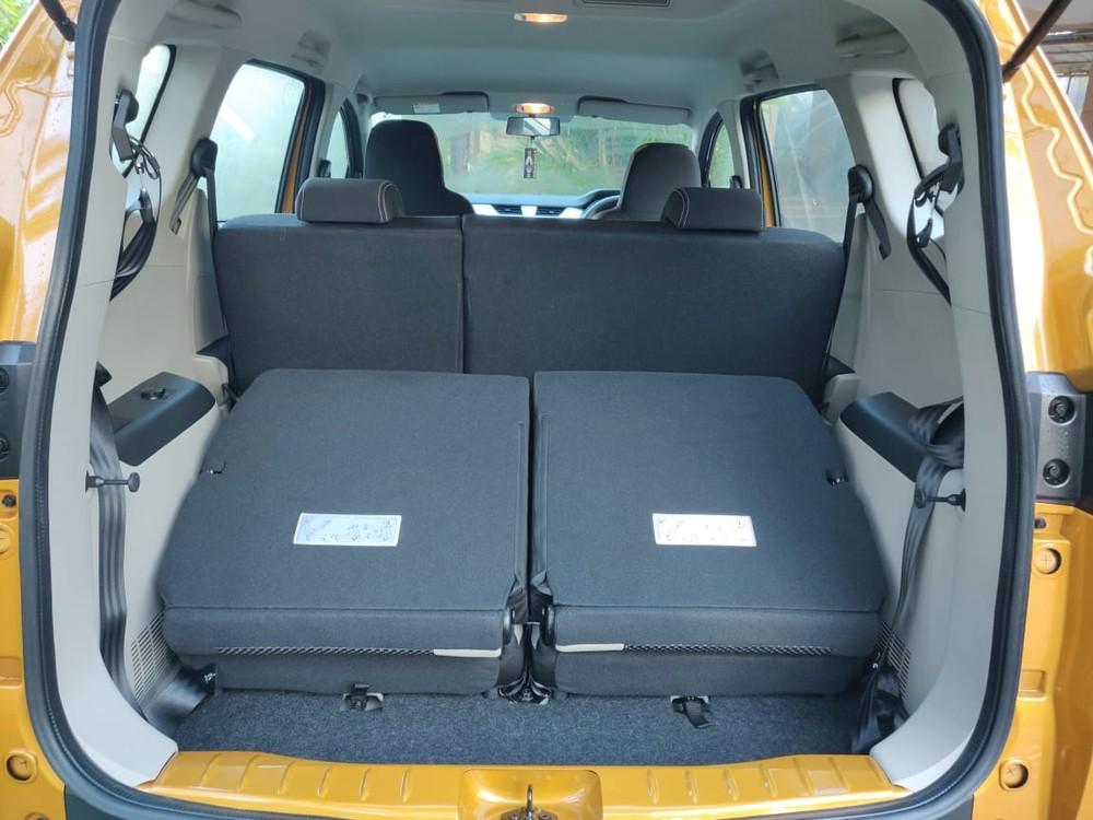 Khoang hành lý phía sau của Renault Triber 2019