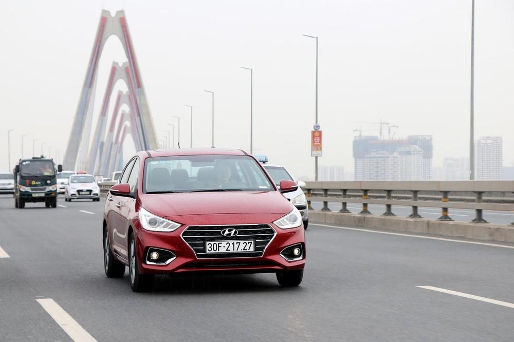 Hyundai Accent tiếp tục là mẫu xe bán chạy nhất của TC Motor