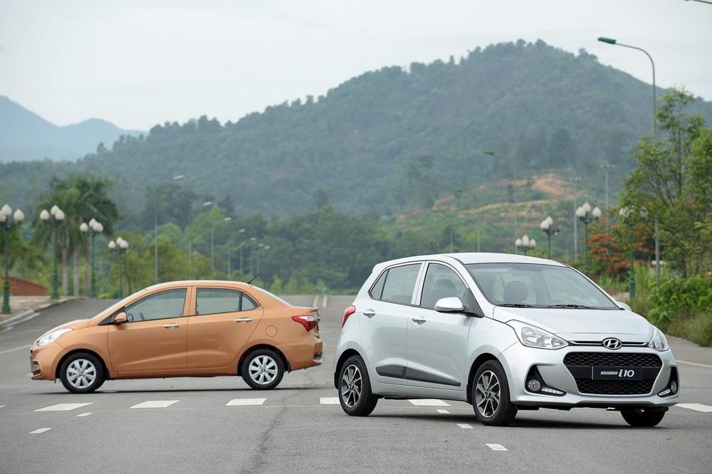 Hyundai Grand i10 xếp hạng thứ 4 trong danh sách 10 mẫu ô tô bán chạy nhất thị trường Việt Nam tháng 10/2019