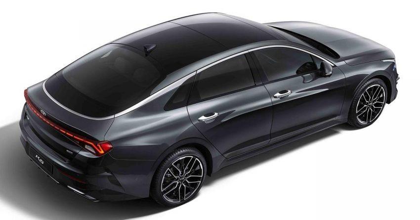 Kia Optima mới đã được tăng cả chiều dài lẫn chiều dài cơ sở