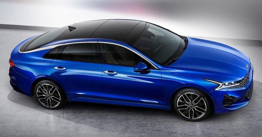Kia Optima 2020 có thiết kế sườn đơn giản nhưng không đơn điệu