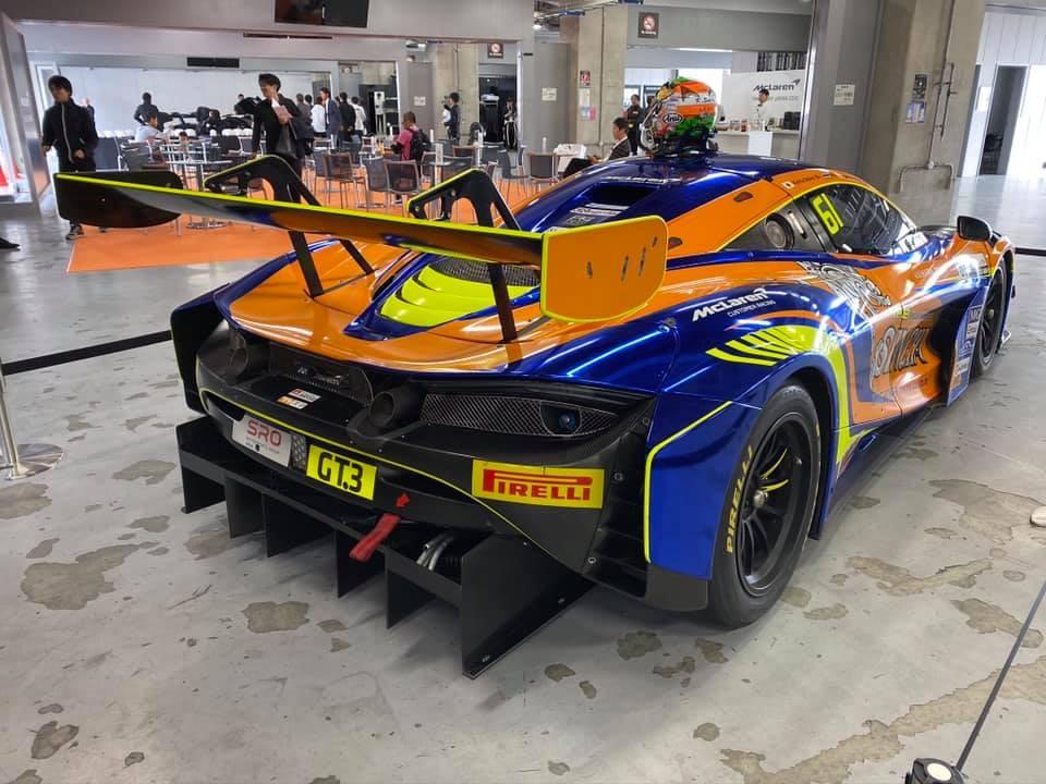 Siêu xe đường đua McLaren 720S GT3