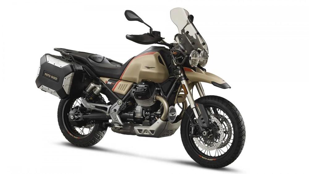 Giá xe Moto Guzzi V85 TT sẽ sớm được công bố