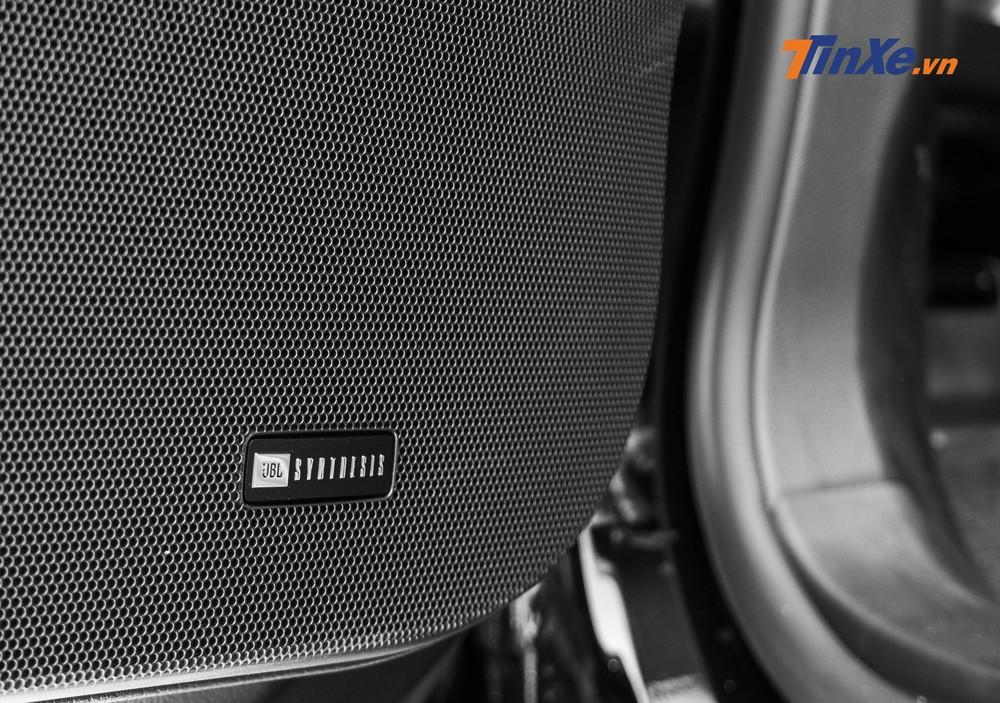 Hệ thống âm thanh gồm 14 loa JBL Synthesis đem tới những trải nghiệm âm nhạc cao cấp