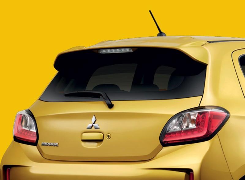 Mitsubishi Mirage 2020 có màu sơn vàng mới