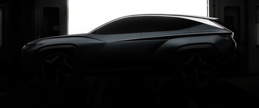 Thiết kế Hyundai Vision T Concept khá giống với mẫu Tucson thế hệ mới đang chạy thử nghiệm