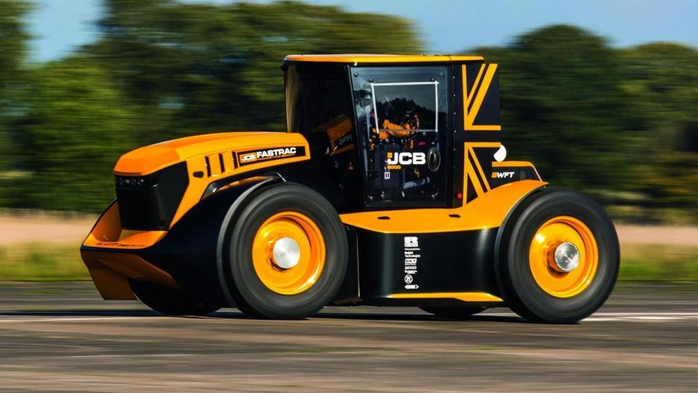Fastrac Two giờ đây là siêu máy cầy nhanh nhất thế giới