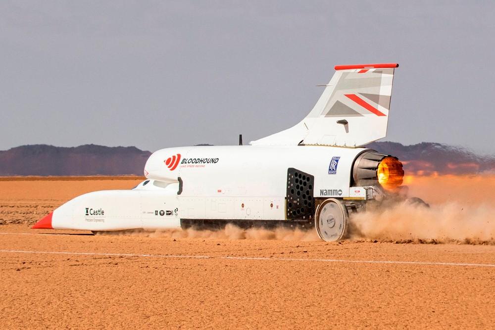 Bloodhound LSR có mục tiêu cuối cùng là lập kỷ lục tốc độ trên đất liền mới ở 1.609 km/h