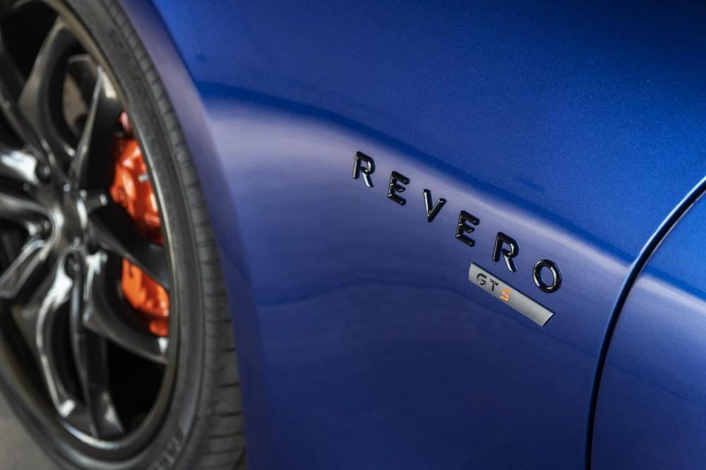 Hàng chữ Revero GTS tinh tế ở sườn lốp trước