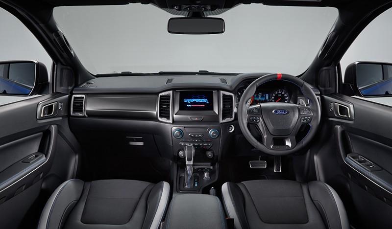 Ford Ranger Raptor 2020 có thêm nhiều tính năng an toàn hiện đại hơn