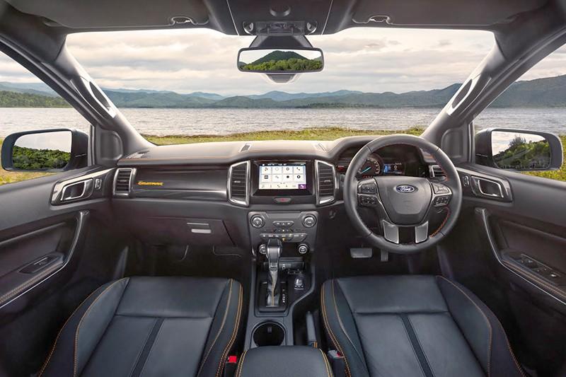 Nội thất của Ford Ranger Wildtrak 2020
