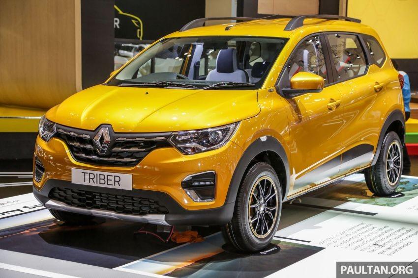 Renault Triber 2019 có giá hấp dẫn tại Indonesia