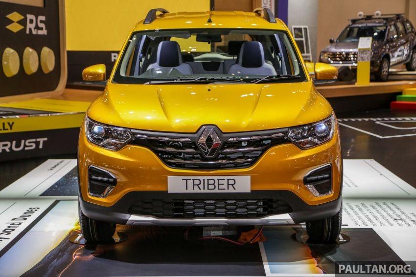Cận cảnh thiết kế đầu xe của Renault Triber 2019