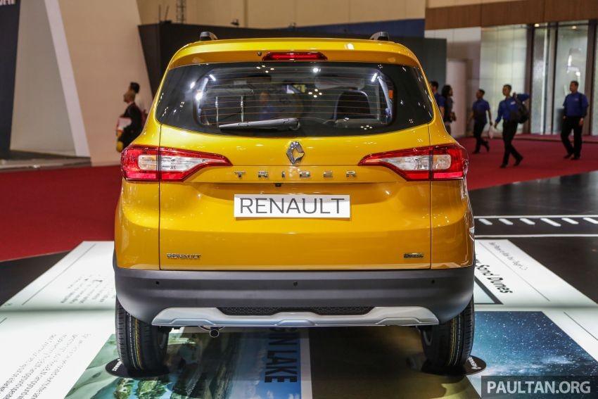 Renault Triber 2019 dùng động cơ xăng 3 xi-lanh, dung tích 1.0 lít