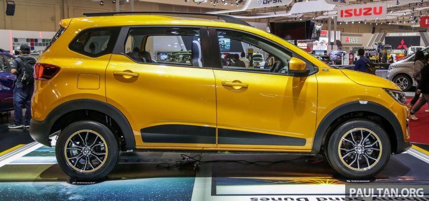 Renault Triber 2019 có kích thước nhỏ gọn
