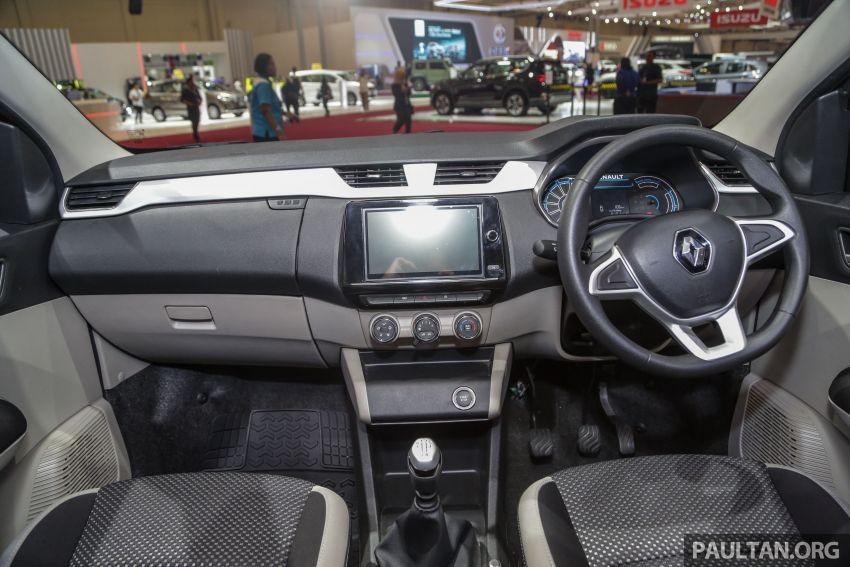 Nội thất bên trong Renault Triber 2019 tại Indonesia