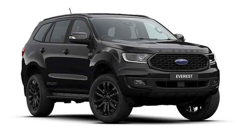 Ford Everest Sport 2020 màu Đen