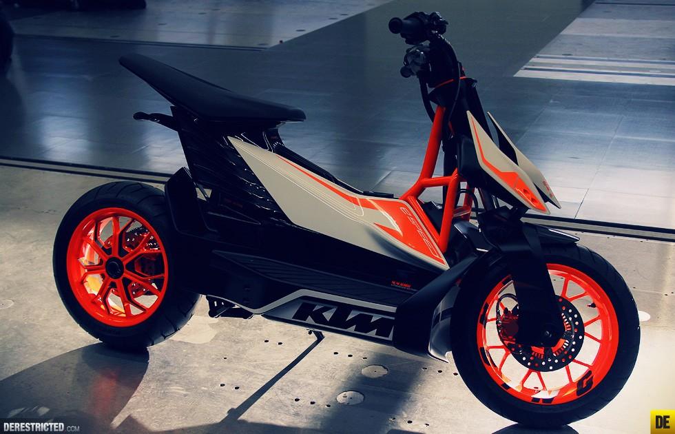 Concept xe điện KTM E-Speed sẽ được tung ra thị trường vào năm 2021