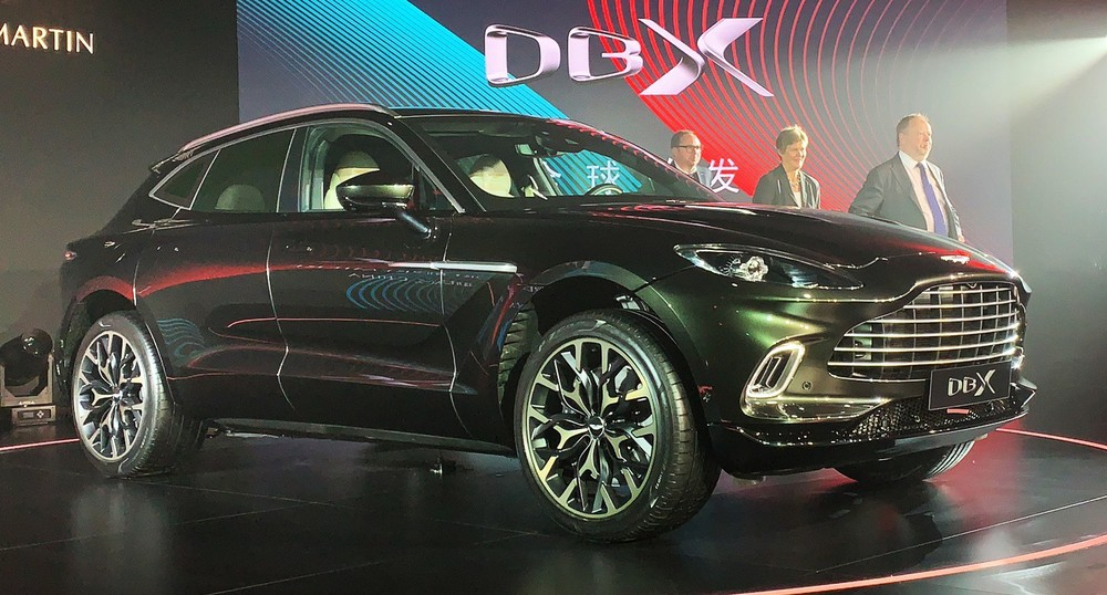 The 2020 Aston Martin DBX shares the same engine as the Vantage and DB11 but is more powerful
