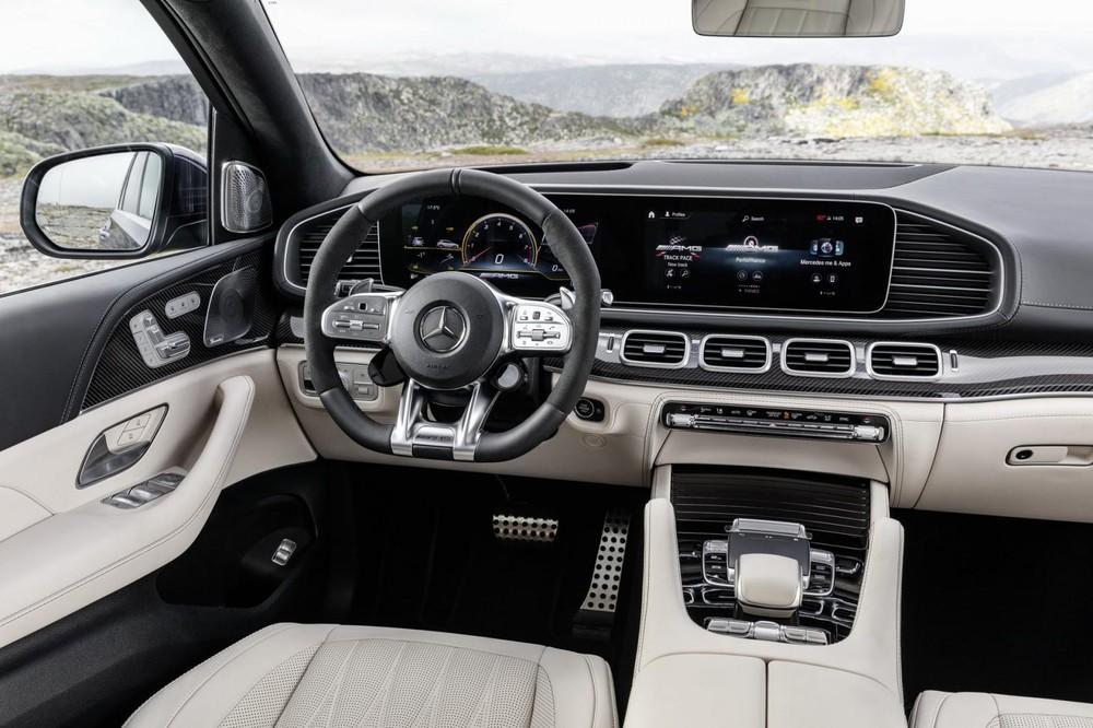 Nội thất Mercedes-AMG GLE 63 S 2021