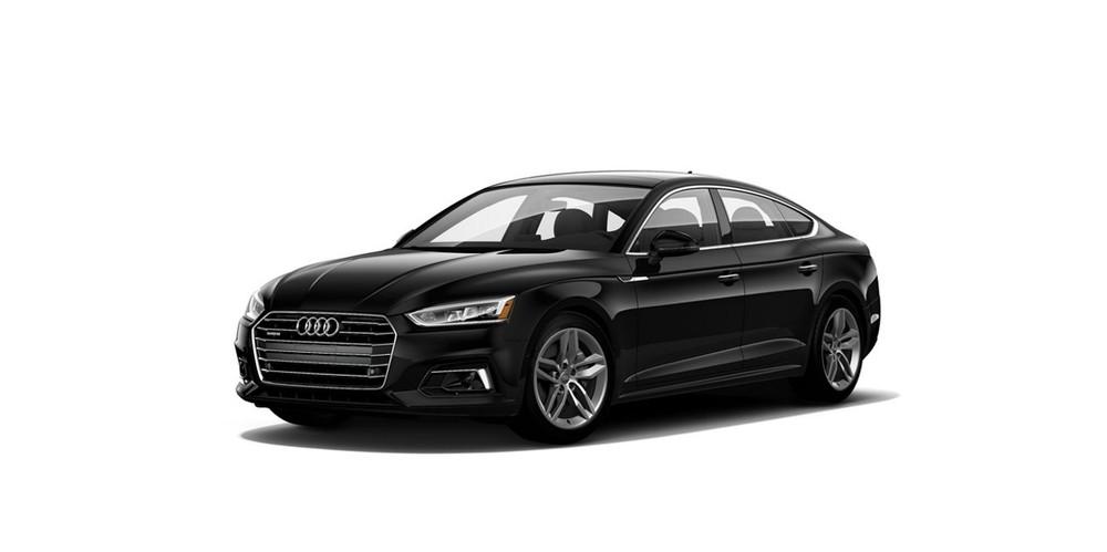Audi A5 màu đen