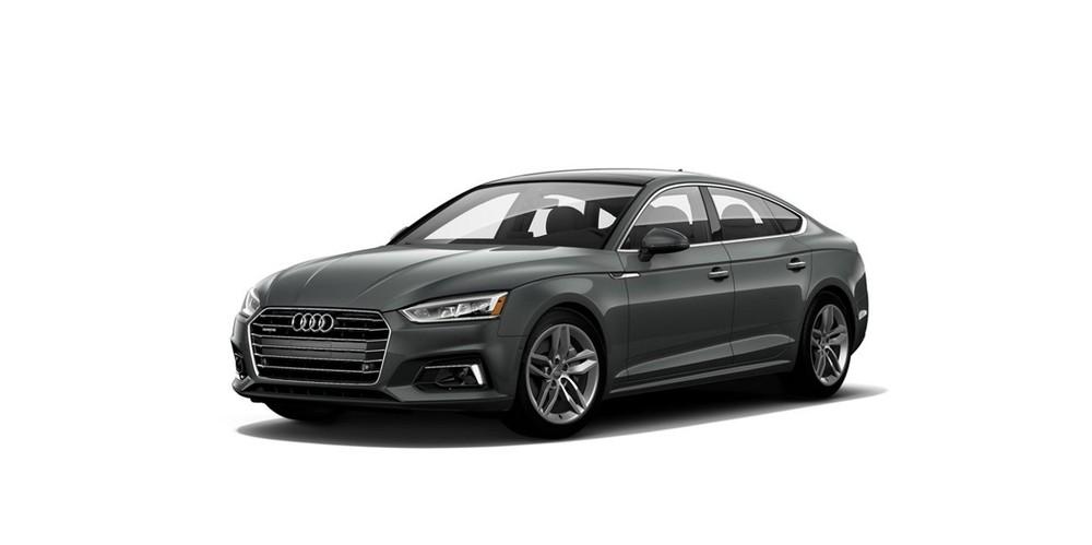 Audi A5 màu xám