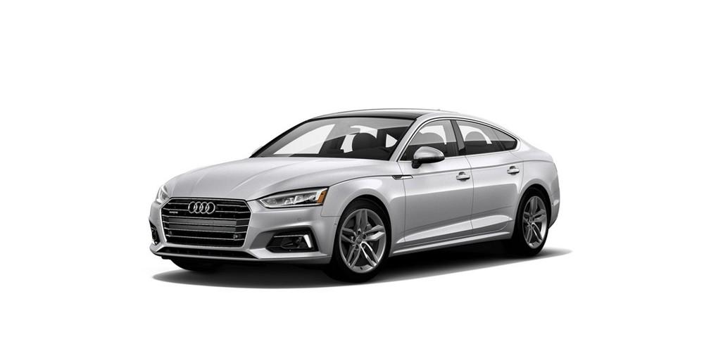 Audi A5 màu bạc