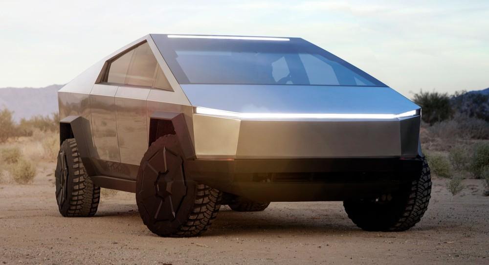 Tesla Cybertruck là một mẫu bán tải điện có thiết kế như xe thám hiểm ngoài hành tinh