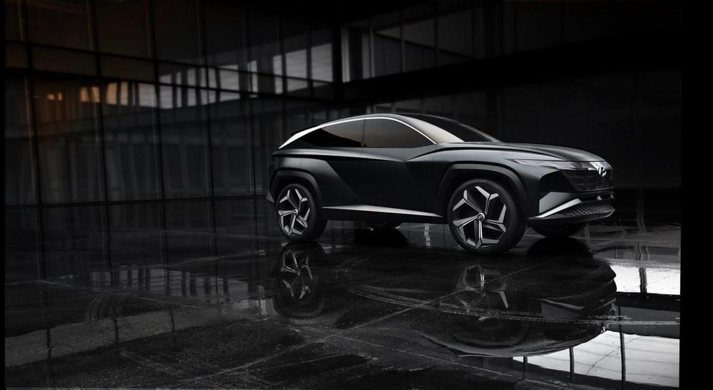 Hyundai Vision T là một mẫu concept SUV hoàn toàn mới với dáng vẻ táo bạo