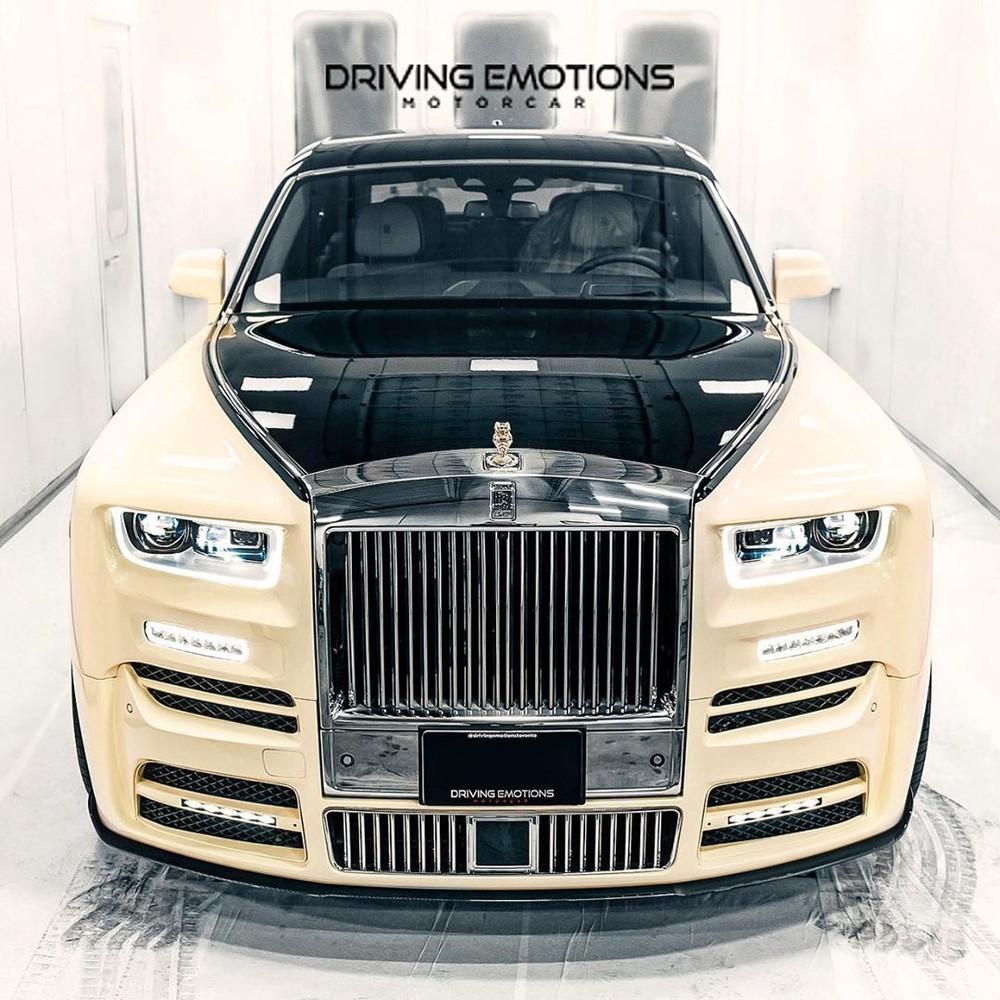 Chiếc Rolls-Royce Phantom của Drake là bản độ Bushukan Edition của hãng Mansory