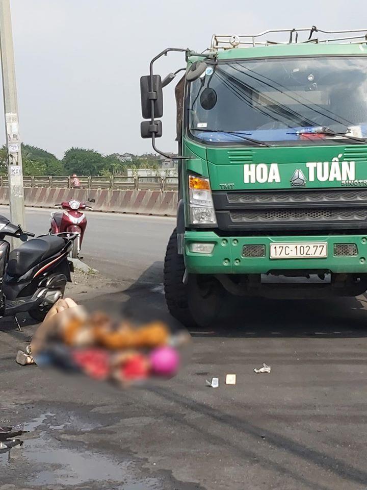 Vụ tai nạn khiến 2 mẹ con đi xe máy thương vong