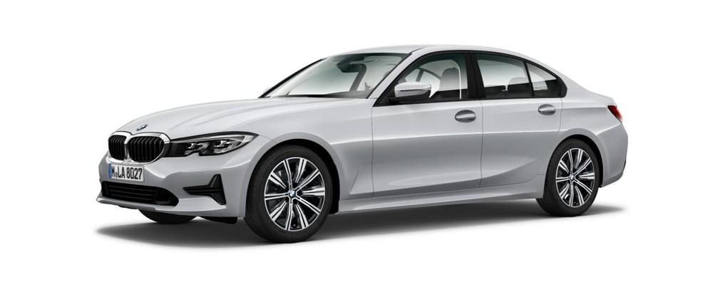 BMW 3 Series màu bạc