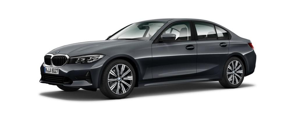 BMW 3 Series màu xám