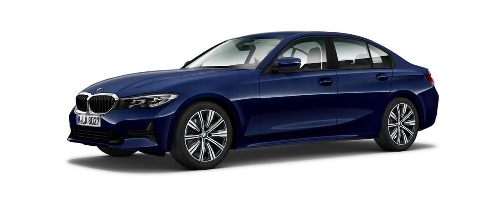 BMW 3 Series màu xanh