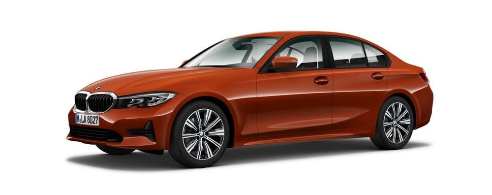 BMW 3 Series màu cam