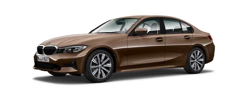 BMW 3 Series màu đồng