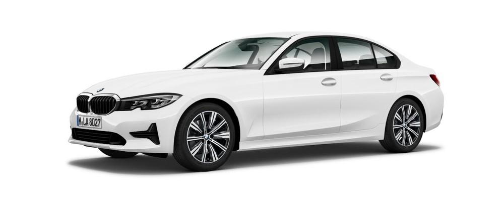 BMW 3 Series màu trắng