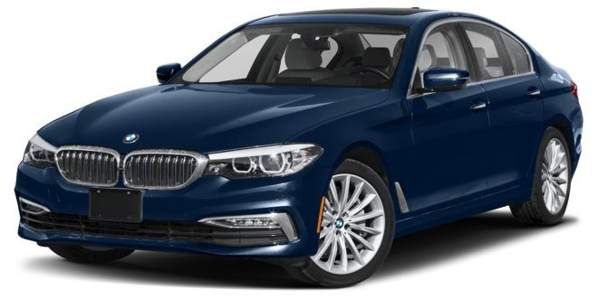 BMW 5 Series màu xanh