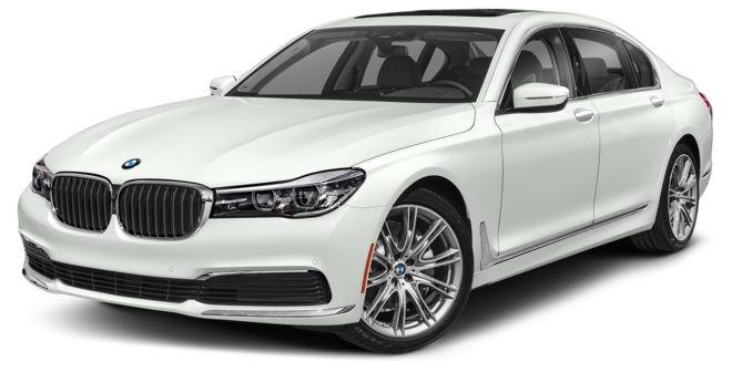 BMW 7 Series màu trắng